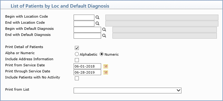 patient information and billing system